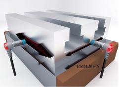 Pozycjonowanie ruchomych części stołu XY.